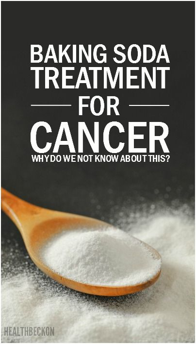 Baking Soda - Treatment For Cancer - Why do we Not know about this????