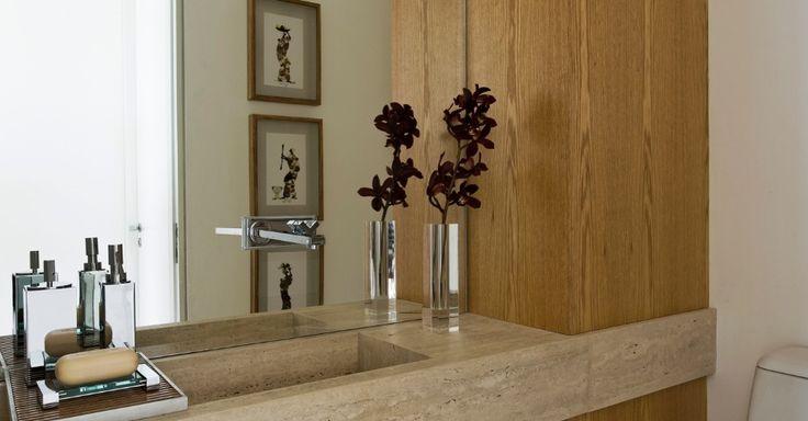 uol decoracao lavabo:1000 imagens sobre banheiros no Pinterest
