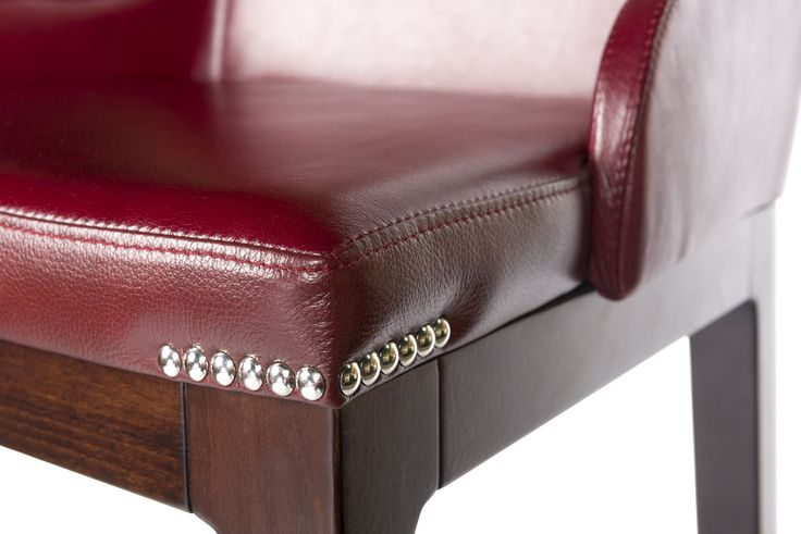 Solid wood, high quality leather with silver note