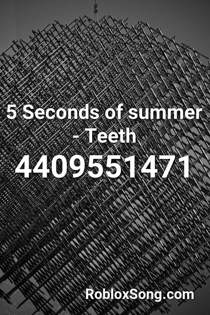 Michael Jackson Beat It Roblox Id 5 Seconds Of Summer Teeth Roblox Id Roblox Music Codes In 2020 Roblox Girls Generation Second Of Summer