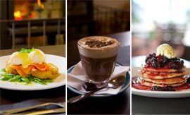 $29 for any two breakfast or lunch menu items & two drinks from Chocolate Brown Chocolate Factory & Cafe, worth up to $58