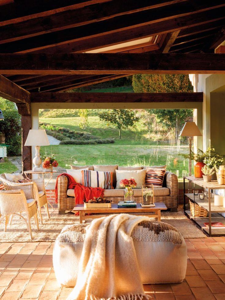 Una casa rustica en cantabria sencilla y muy acogedora for Arredamento casa rustica