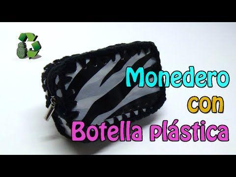 74. Manualidades: Monedero con botella plástica (Reciclaje de Pet) Ecobrisa