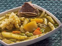 Que Cocinare Hoy?  Mis Recetas Favoritas del Libro de Recetas Nicolini: Menestron - Pag.85 - Sopas