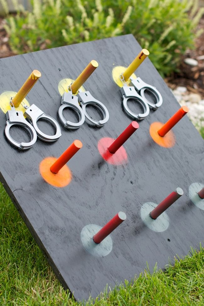 Cops and robbers party game
