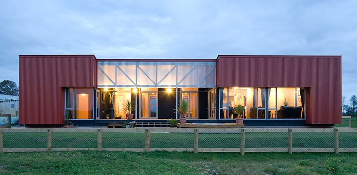 NZIA award for the Red Shed architecture by Antanas Procuta Architects