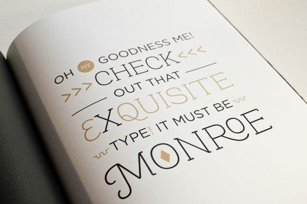 monroeMonroe Typography, Beautiful Fonts, Amazing Types, Prints Design, Typography Design, Graphics Design, Types Design, Awesome Types, Hoyle Rebranding