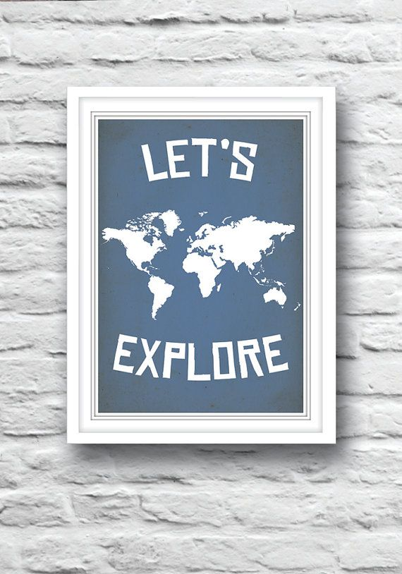 Hey, I found this really awesome Etsy listing at https://www.etsy.com/listing/163936760/world-map-poster-nursery-poster-world