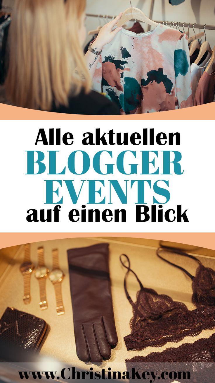 Alle wichtigen Blogger Events auf einen Blick! - Aufgelistet nach Kategorie, Datum und Stadt bzw. Land - Jetzt entdecken! Auf meinem Blog CHRISTINA KEY warten übrigens noch andere hilfreiche Artikel auf Dich in den Bereichen Fotografie, Blog Business und Lifestyle Themen.