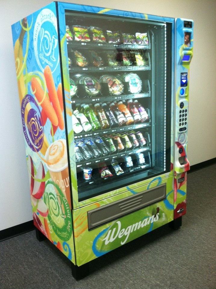 wegmans vending machine