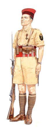 Sargento, 5º Regimiento de Cazadores de Africa, 1943.