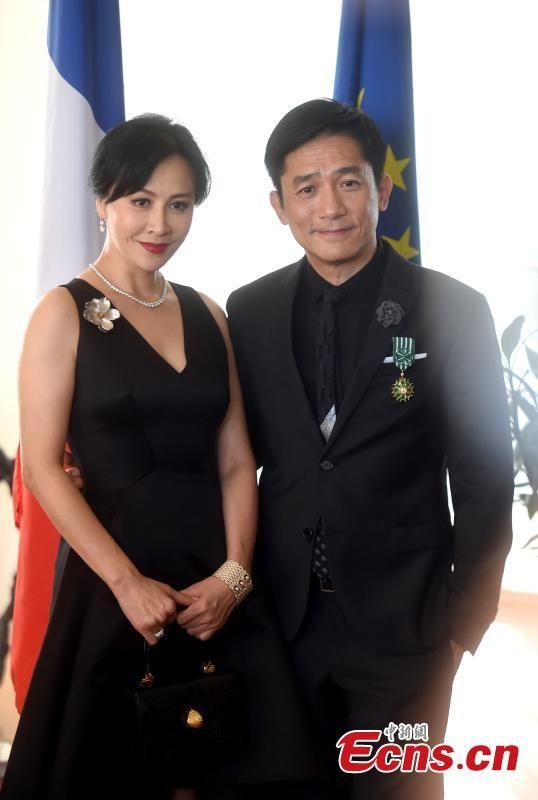 Tony leung wife