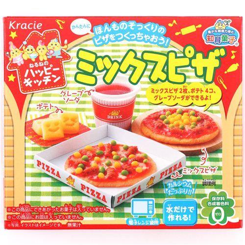 Happy Kitchen Mini Pizza Kracie Popin' Cookin' DIY candy 1