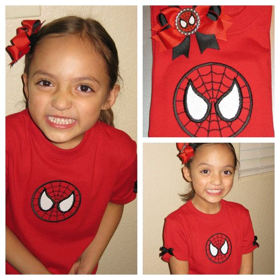 Spidey Spiderman custom made to order t shirt and by AMAYABELLA, $25.00