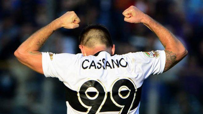 Serie A: Cassano se retira... ¡ocho días después de fichar por el Hellas Verona! | Marca.com http://www.marca.com/futbol/liga-italiana/2017/07/18/596dfc22ca4741dc538b45ca.html