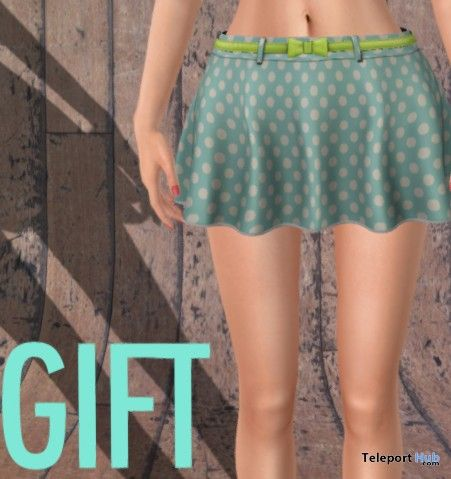 Carola Skirt with Belt Group Gift by Addams - Teleport Hub - teleporthub.com