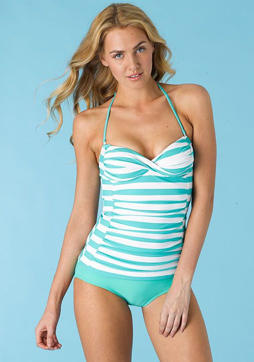 Sweetheart Tankini (D-cup) at Alloy $9.99 Matching Hipster Bottoms $9.99