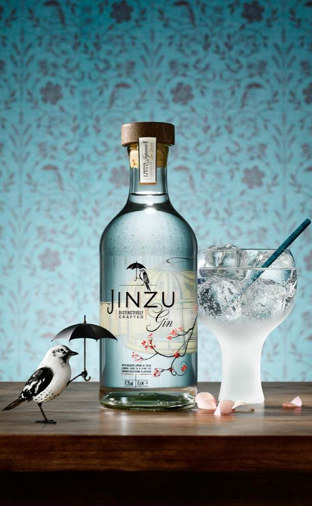 Surprising British gin made with sake.