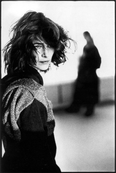 Charlotte Rampling is so chic. She's in her late 60s or early 70s now and still looks chic. Biddy Craft
