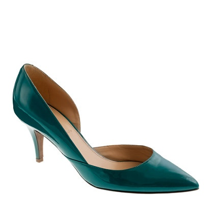 Swirl | J Crew >> Love these! Great color and height for me.