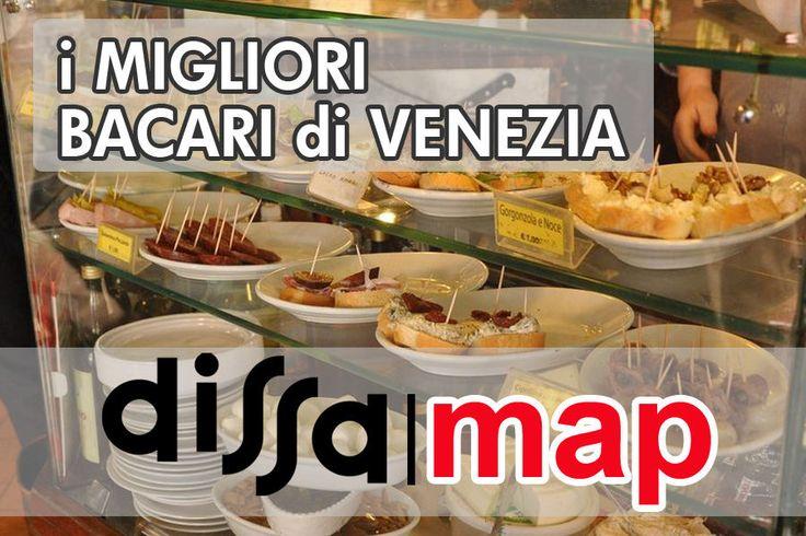 Mappa: 22 bacari per non farsi spennare a Venezia