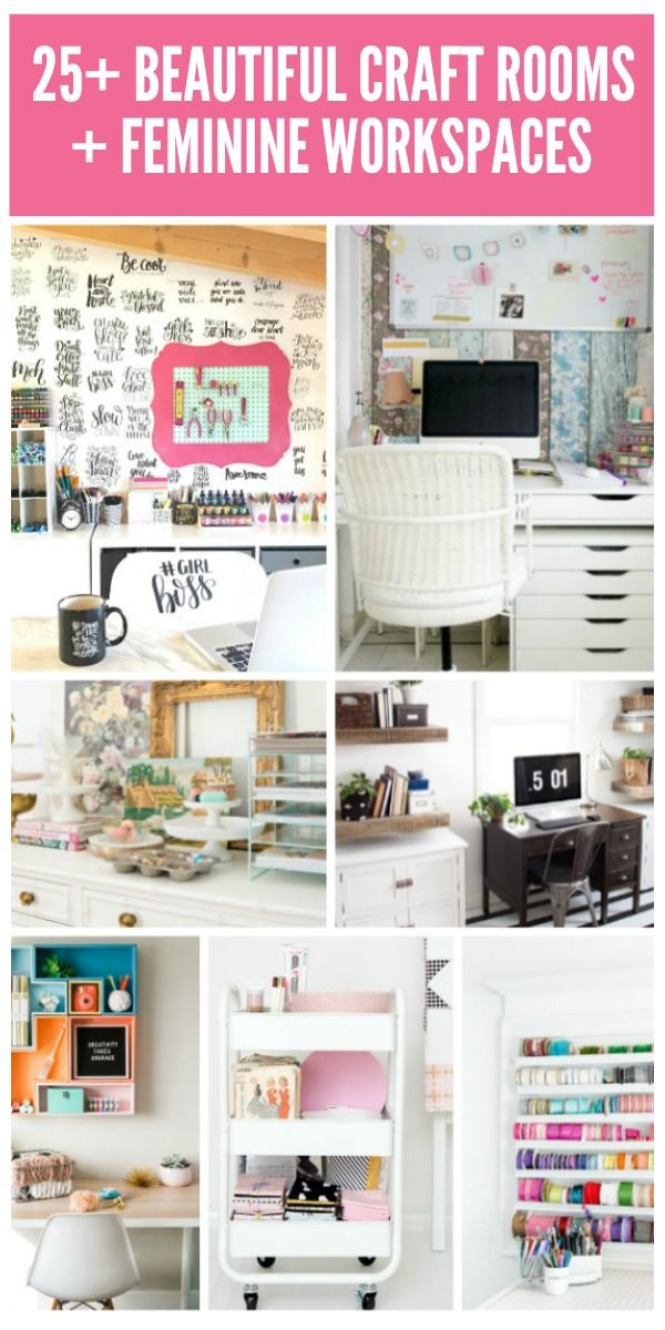 Craft Room Tour: Studioffice Changes