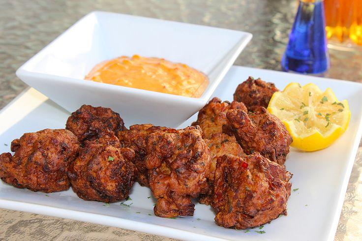 Exquisita receta de Frituras de Carrucho al estilo Key West... Buenapetito!