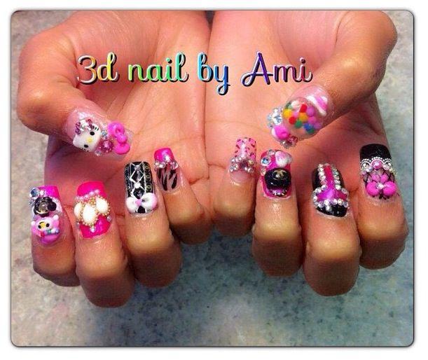21 best outrageous nails images on Pinterest | Crazy nails ...