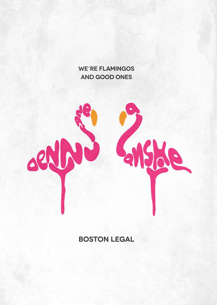 Boston Legal Typography by gmanishreddy