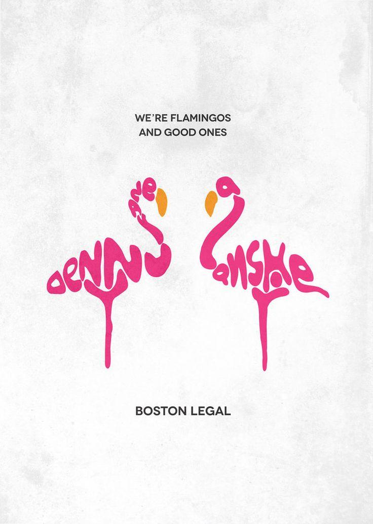 Boston Legal Typography by gmanishreddy