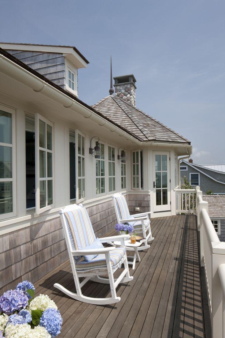 94 best Deck Design Ideas images on Pinterest   Outdoor ... on Beach House Patio Ideas id=30973