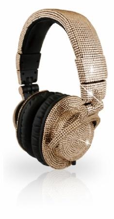 why yes, everyone needs $2500 crystal-encrusted headphones.