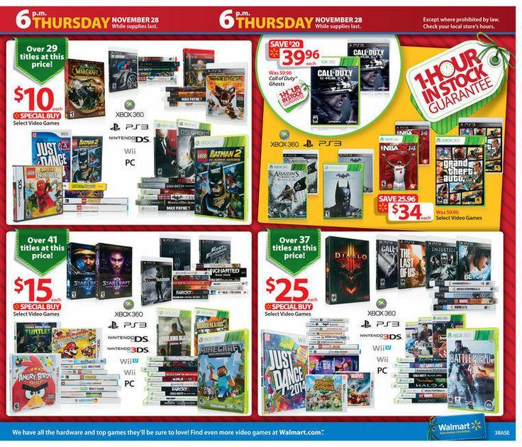 Walmart Black Friday 2013 Ad Page 3 Ad