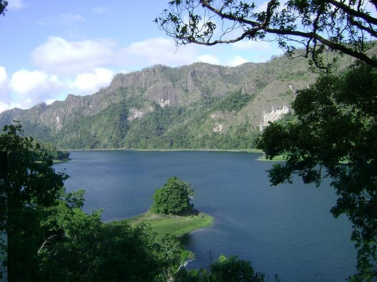 Tihu Lake, Wetar Island, Indonesia. Maluku islands