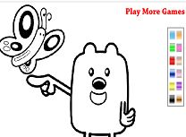 Color with Wubbzy