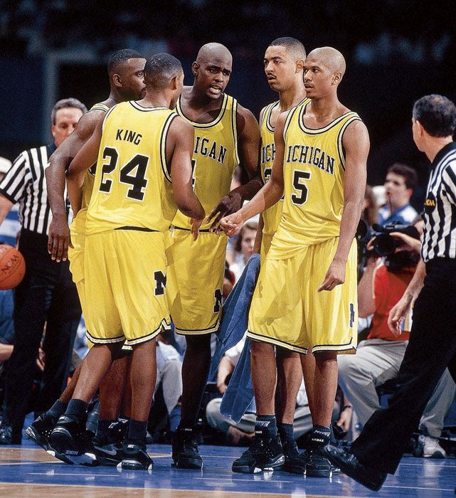 Fab Five - 1993 - Classic NCAA Tournament Photos - Photos - SI.com