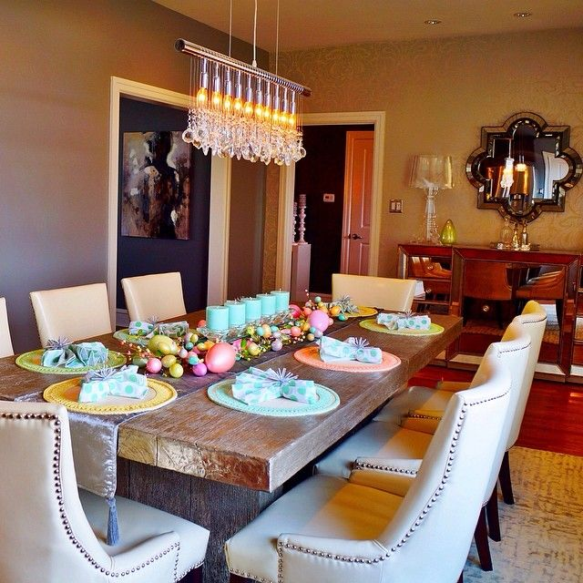 Samiriccioli S Easter Table Featuring Our Timber Dining