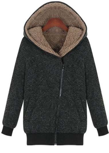Warm Zip Hoodie