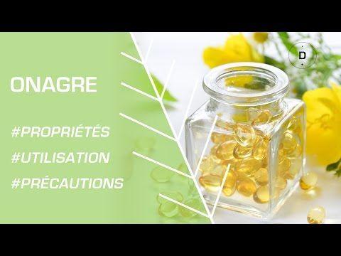 Comment utiliser l'huile d'onagre ? Phytothérapie - YouTube