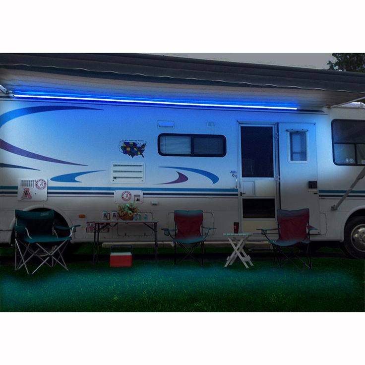 Warm Led Awning Lights Permanently Install On Your Rv