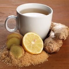 GINGER FOR STOMACH PAIN/MENSTRUAL CRAMPS - Ginger reduces pain and inflammation. One study found that a special ginger extract taken four times a day eased pain as effectively as ibuprofen. - -2 cups water -2 teaspoons grated fresh ginger -1 tablespoon honey - Preparation and Use: Boil the water. Place the ginger in a teapot. Add the boiling water and allow the ginger to steep for 15 minutes. Stir in the honey. Sip. ENJOY!  #HealthyRemedies