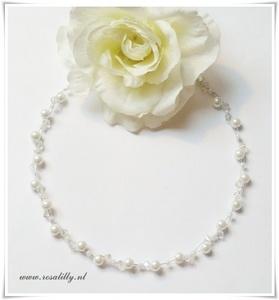 Romantic wedding necklace