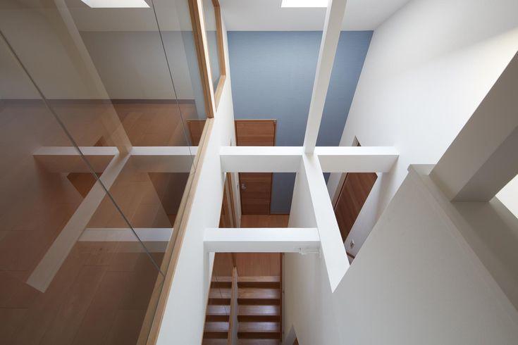 既存トップライトを生かした階段室(小岩の二世帯住宅) - その他事例|SUVACO(スバコ)