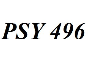 PSY 496 Entire Class Course Answers Here: http://www.scribd.com/collections/4278941/PSY-496