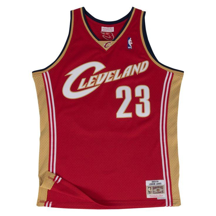 LeBron James #23 Cleveland Cavaliers Vintage Throwback Swingman Jersey