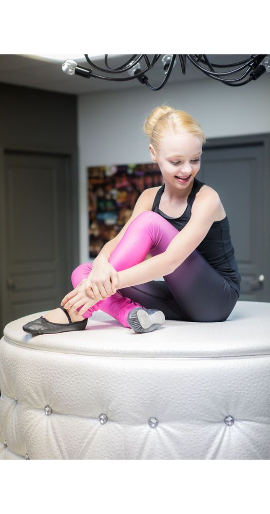 New Competition Skating Xpression FADED LEGGING - PINK L020-PK 8-10 #EliteXpression