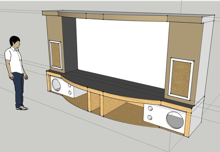 PJ Screen Stage Sub Enclosure Design   Page 4   Home Theater Forum And  Systems   Awesome Ideas