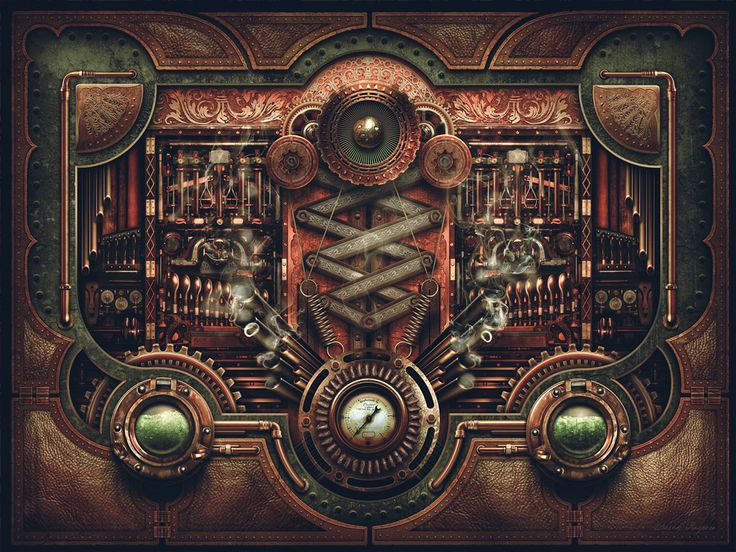Steampunk Motherboard