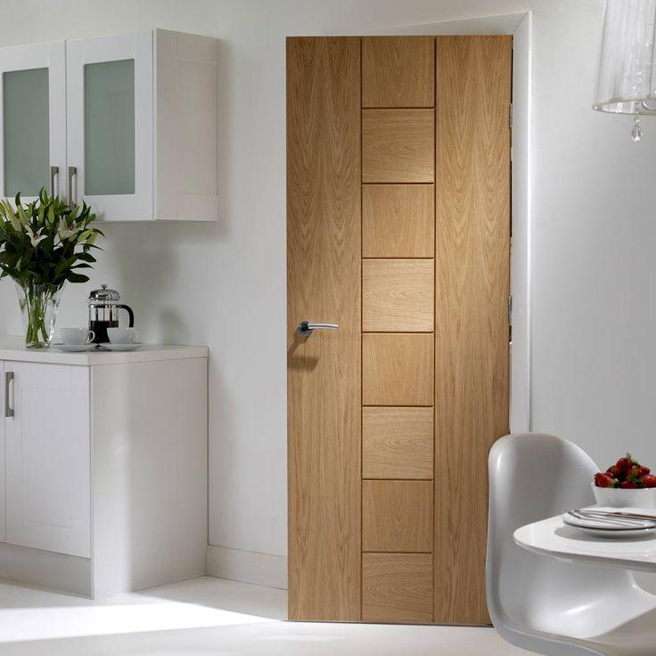 Messina Oak Solid Door, this is an interior door with a sleek and stylish new design. #designeroakdoor #flushoakdoor #directdoors