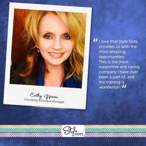 Meet Boutique Partner Cathy Gipson!